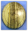 Cribbage Board small oval (SKU: 1602)