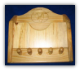 Key Rack and Letter Holder (SKU: 1629)
