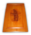 Cabinet Door - Grizzly Bear (SKU: 1679)