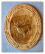 Cribbage Board Large Oval (SKU: 1643-C)